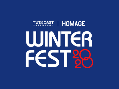 Winter Fest logo concept