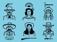 TPATY Western Characters