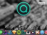 QQ Bubble - OS X Customize App Icon