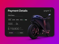 Daily UI - Payment Details Form