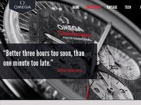 Omega Speedmaster website
