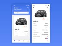 Car Agency App Concept