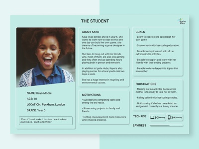 User Personas neumorphic profile goals ux users templatedesign research user experience template personas