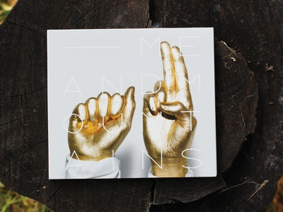 GOLD gold hands record album design music