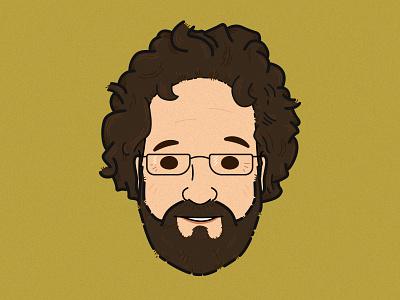 Aaron Gustafson aaron gustafson portrait illustration