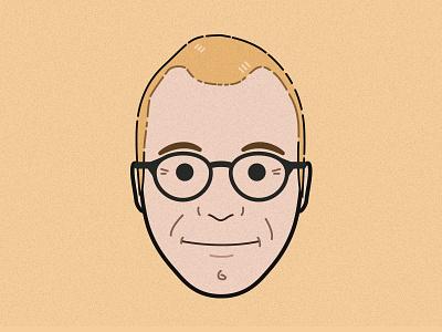 Ethan Macotte ethan marcotte portrait illustration