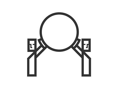 Teamwork figure illustration icon