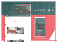 Logo and website for Vector-i