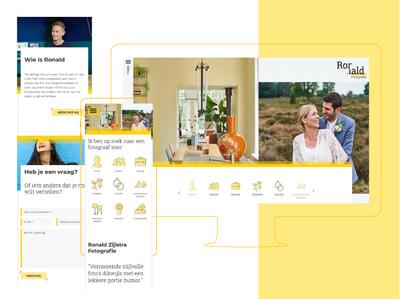 Webdesign for Ronald Zijlstra