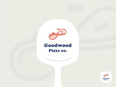 Pizza Brand #2 brand branding derby goodwood horse italian logo logomark pizza pizza peel restaurant take away