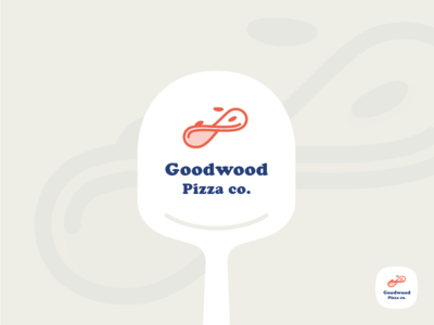 Pizza Brand #2 brand branding derby goodwood horse italian logo logomark pizza pizza peel restaurant take away
