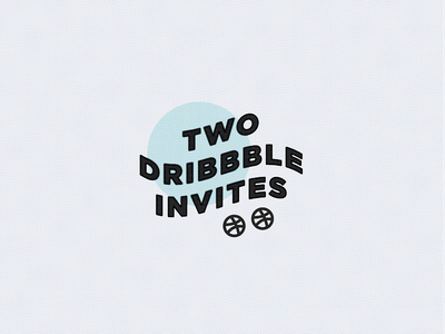 Invite Giveaway giveaway invite dribbble