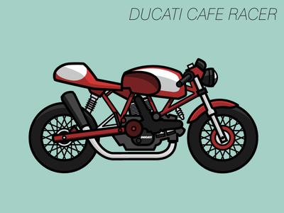Ducati Sport Classic 1000 ducati illustration sport classic motorcycle bike