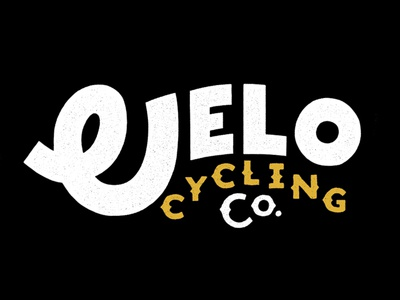 Velo Cycling Co. bike cycling velo lettering hand branding typography