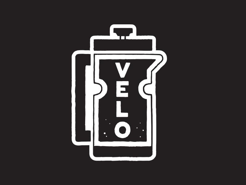 Tour de French Press bottle logo icon illustration lettering cycling bike velo france tour press french