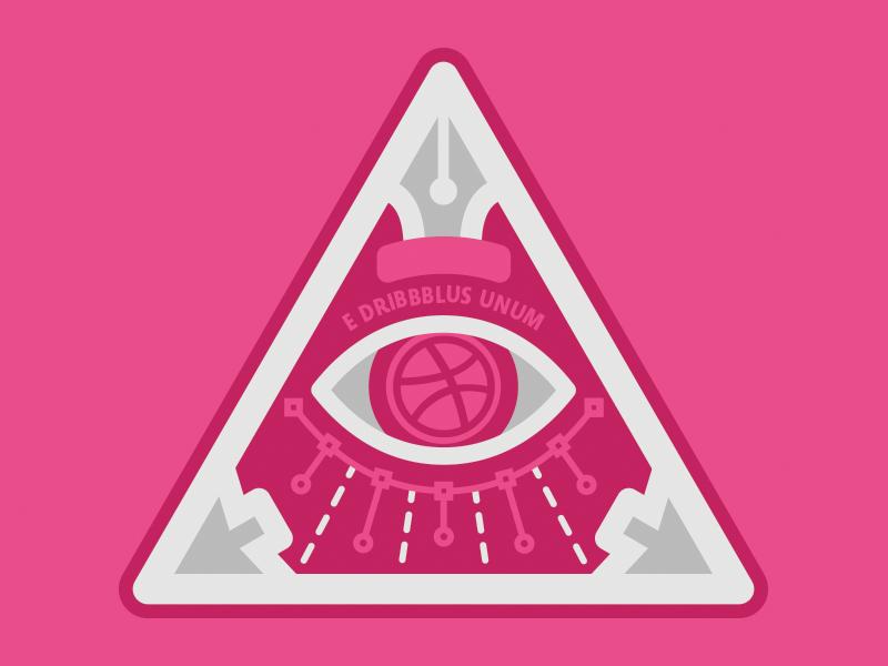 Invitation Only occult pen eye club secret illuminati dribbble