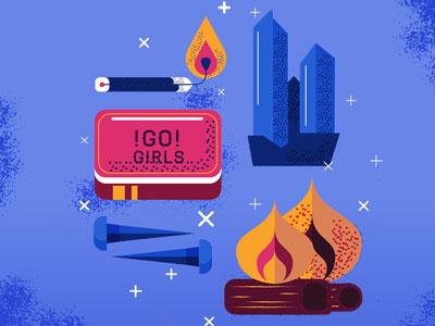 Go girls! fire light girls tools