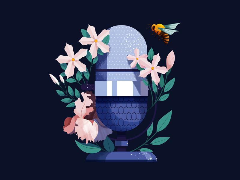 Guerlain Olfaplay speak radio microsoft mic sound podcast bee flowers olfaplay guerlain