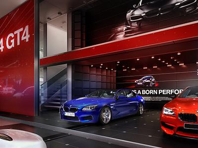 BMW MIAS CONCEPT brand architecture event design spatial design bmw design bmw stand design motor show design booth design