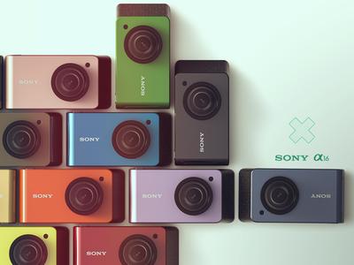 Sony alpha 16