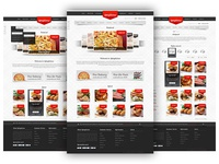 Freebie: Spicylicious PSD template