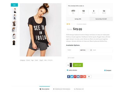 Koda Theme Product Page Design deal cpoupon woocommerce themes wordpress web design design