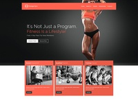 Koda WordPress Theme GYM demo shot