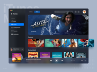 iTunes Redesign - Movie