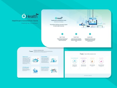 Web Template Design for health web illustration web design ux design uiux design