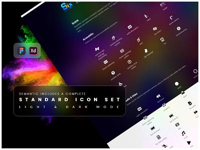 Standard icon set