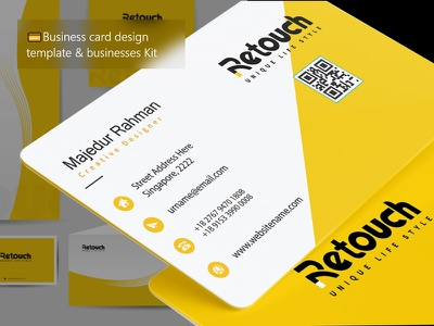 💳Business card design template & businesses Kit