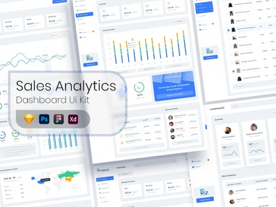 Dashboard Ui Kit - Sales Analytics