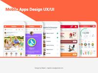 Mobile- App Design UI/UX