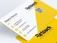 Corporate ID Card Design for Retouch company