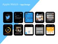 Apple Watch- App Design