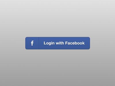 Facebook Button(Free PSD)