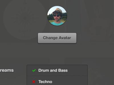 Change Avatar