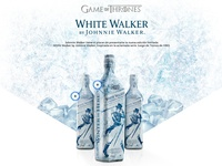 Game of Thrones, White Walker Landing Page