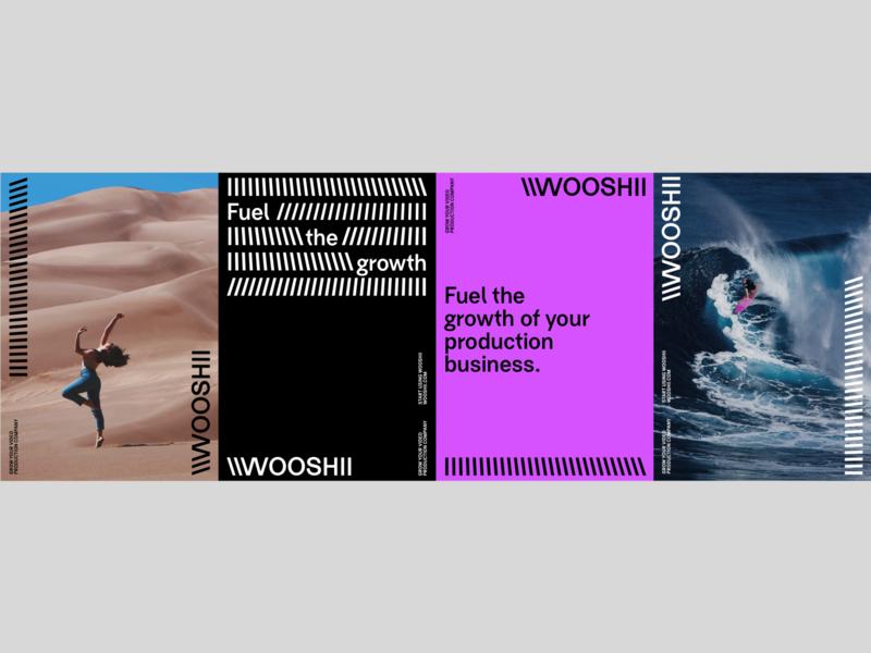 Wooshii identity identitydesign identity branding logotype graphicdesign