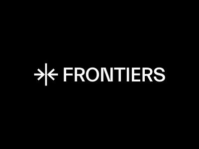 Frontiers logotype logo logodesign logotype branding graphicdesign