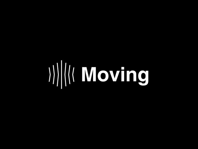 Moving vector logo design logotype logodesign graphicdesign