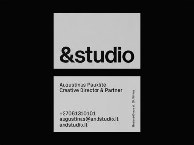 Andstudio stationery