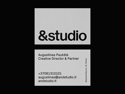 Andstudio stationery identity identitydesign graphicdesign