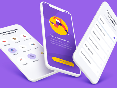 Sport app identity illustrator art design beautiful lettering ios branding vector logo lancedaile after effect minimal animation web website app ux ui illustration