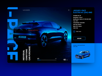 Jaguar I Pace Electro At graphic design character logo minimal type lettering typography identity illustrator icon branding web after effect beautiful vector app ux ui illustration design