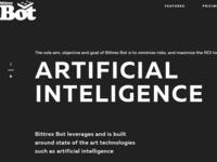 Bittrex Bots Artificial Intelligence