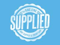 Fine Line Art Supply & Print Lab T-shirt Design