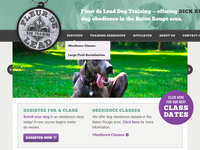 Fleur de Lead Dog Training Website