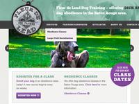 Fleur de Lead Dog Training Website