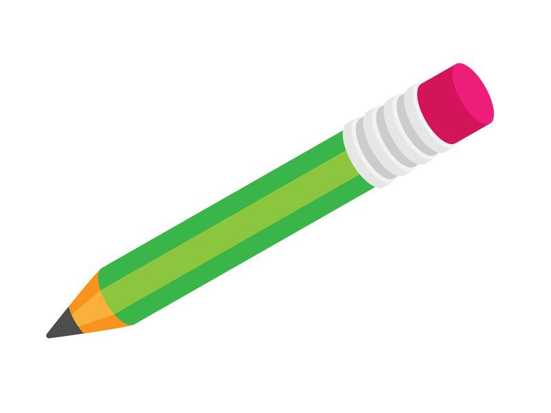 Pencil vector icon pencil drawing school pencil illustration vector